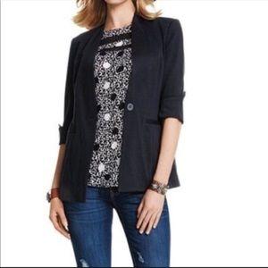 {Cabi} poka dot sleeveless blouse